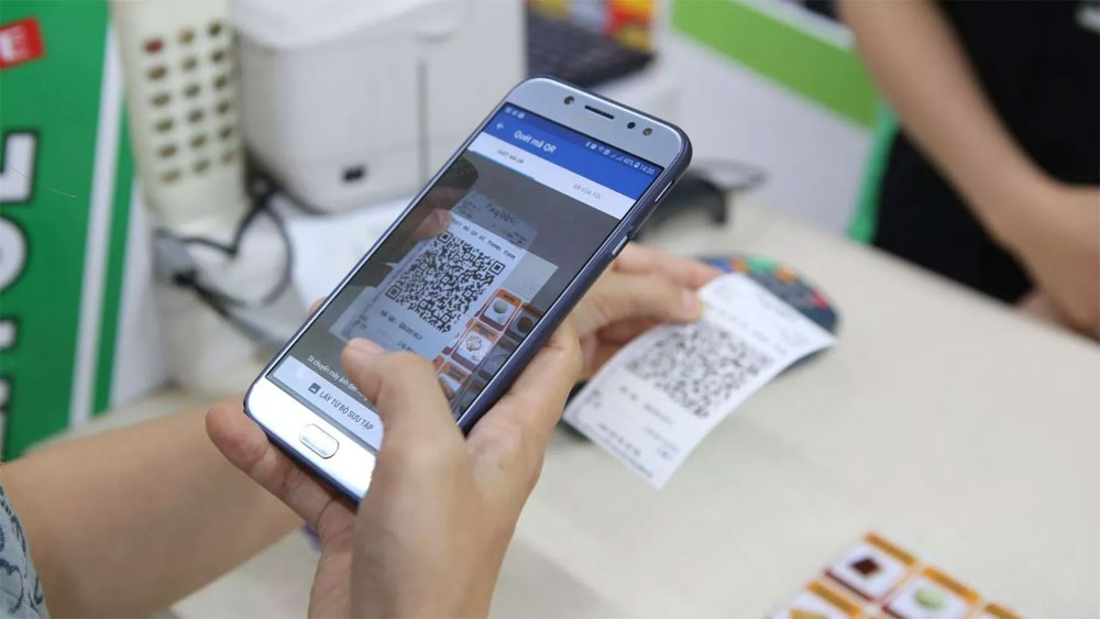 EVN introduces QR codes for paying electricity bills