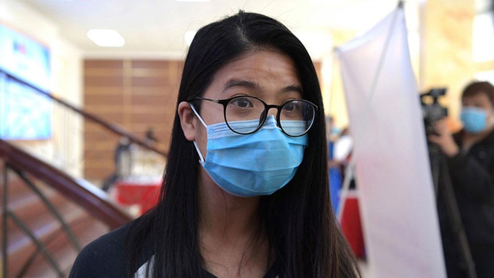 Vietnam, first coronavirus vaccine volunteer, I have faith, human subject, domestic Covid-19 vaccine, Nanocovax, no fatalities
