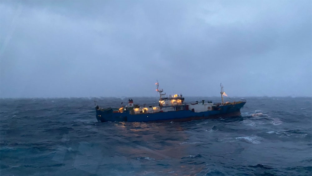 Vietnamese forces rescue Russian vessel stranded at sea