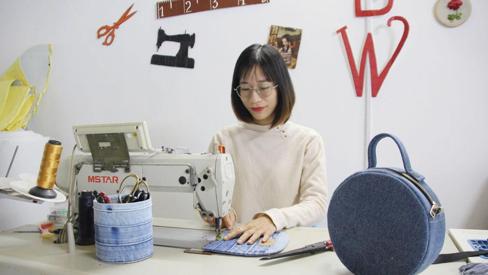 Chị Nguyễn Thị Hải Yến: Khởi nghiệp từ đồ jean cũ