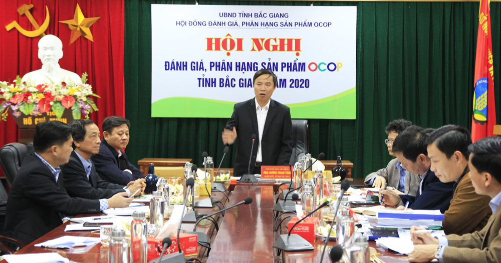 Bac Giang province, 49 OCOP products, provincial level, One Commune One Product,  evaluation and classification,  three star products