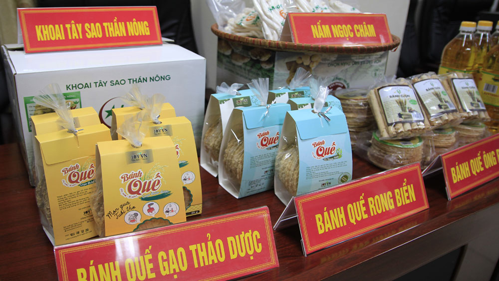 Bac Giang proposes to recognize 49 OCOP products at provincial level in 2020