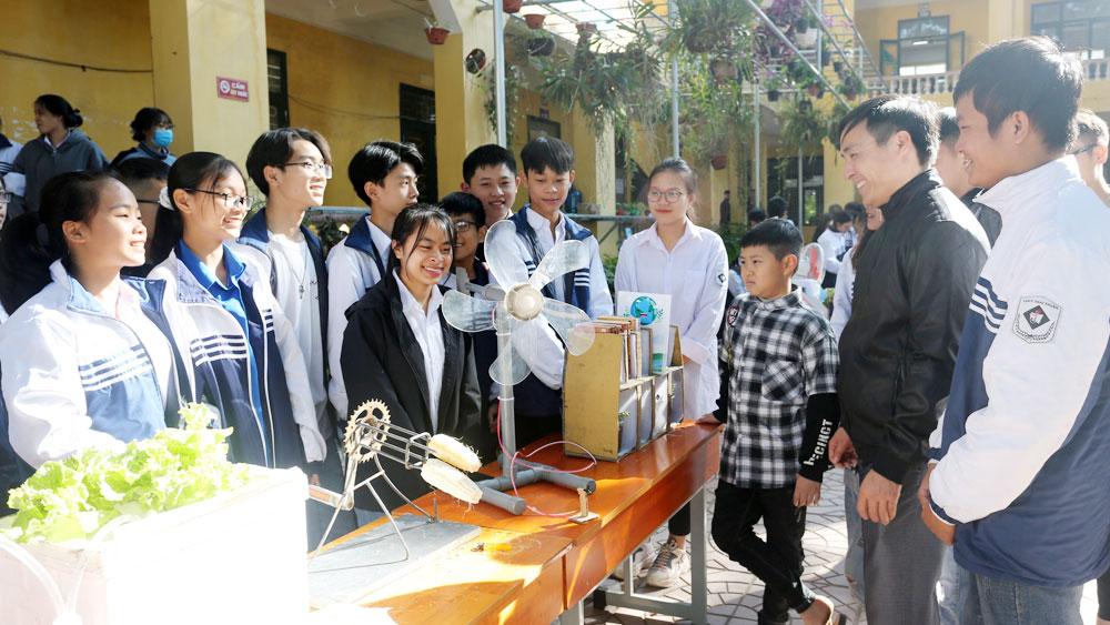 THPT Thái Thuận, Bắc Giang, giáo dục, sáng tạo, kỹ thuật