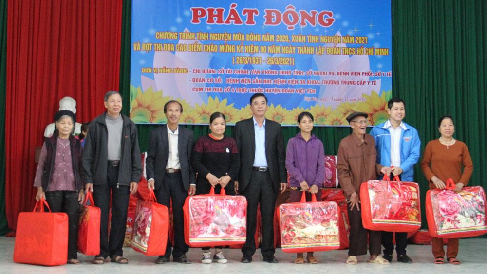 Bắc Giang, Việt Yên, ra quân, tình nguyện mùa đông, xuân tình nguyện.
