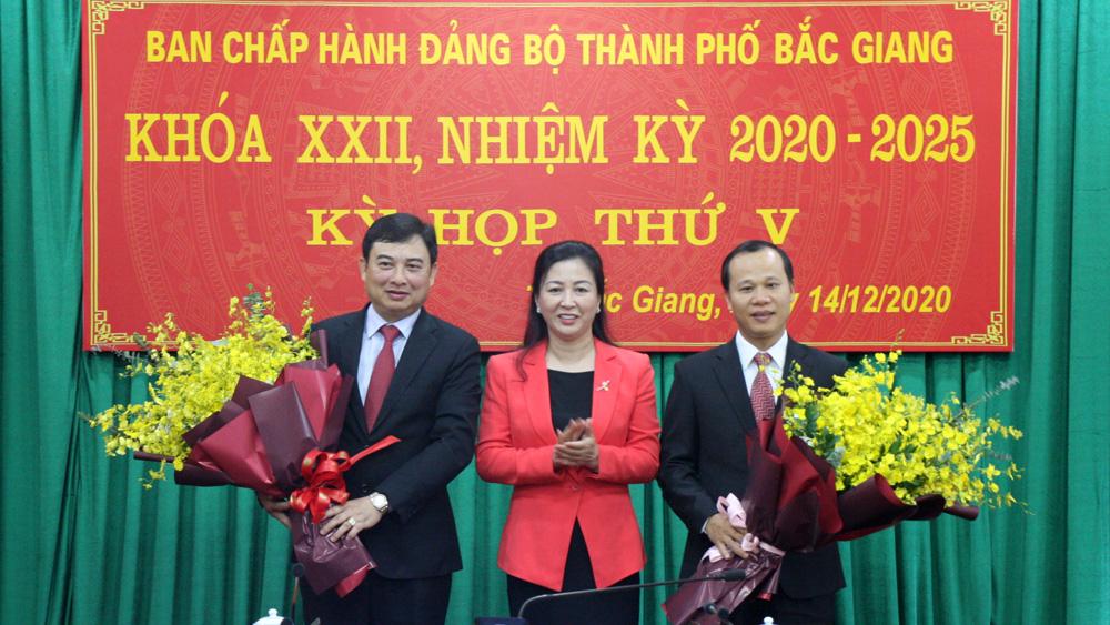 Bắc Giang: Đồng chí Vũ Trí Hải được bầu giữ chức Bí thư Thành ủy Bắc Giang
