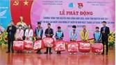 Nhiều hoạt động nhân ái hưởng ứng chương trình tình nguyện mùa Đông - Xuân