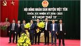 Đồng chí Nguyễn Văn Phương giữ chức Chủ tịch UBND huyện Việt Yên