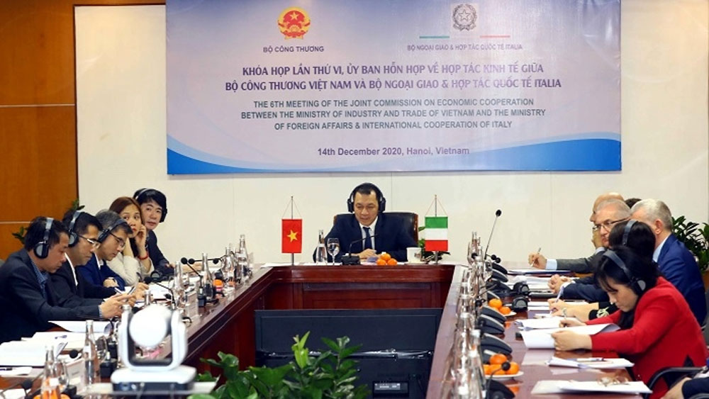 Vietnam, Italy to beef up trade