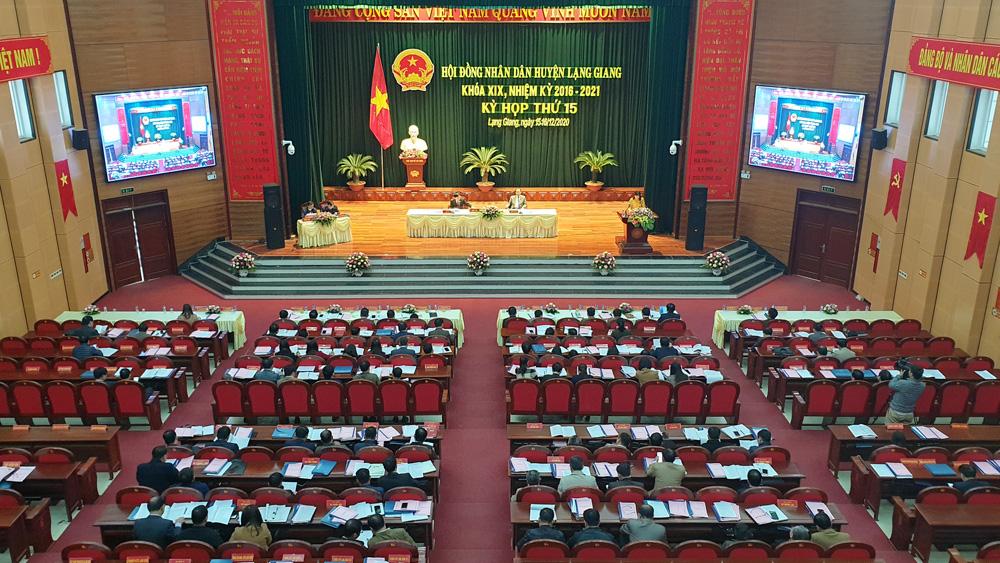Lạng Giang: Hoàn thành 17 chỉ tiêu phát triển KT- XH chủ yếu năm 2020