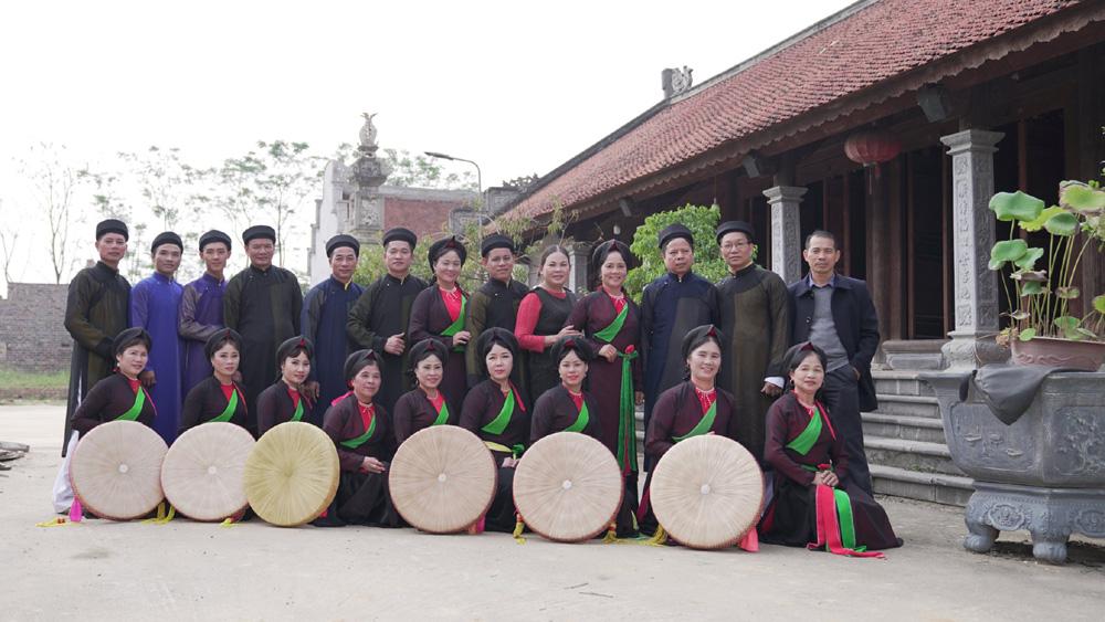 Dàn dựng chương  trình nghệ thuật đặc biệt chào mừng 200 năm thành lập huyện Việt Yên