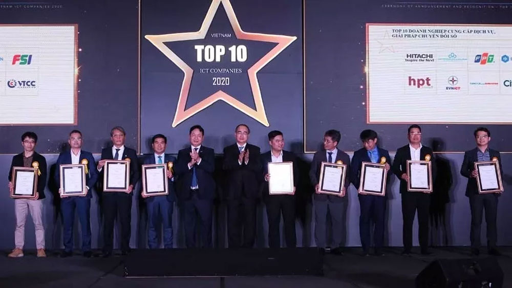 Vietnam honours outstanding IT firms in 2020