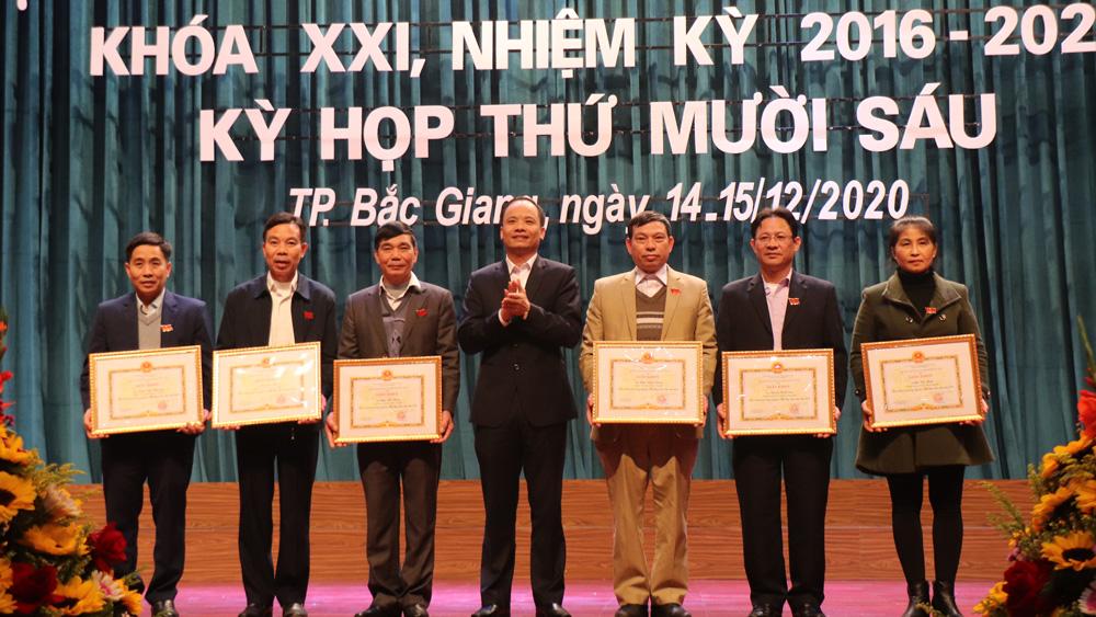 kỳ họp thứ 16, HĐND TP Bắc Giang, Bắc Giang
