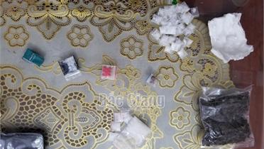 Bắc Giang: Tạm giữ hai đối tượng mua bán trái phép chất ma túy