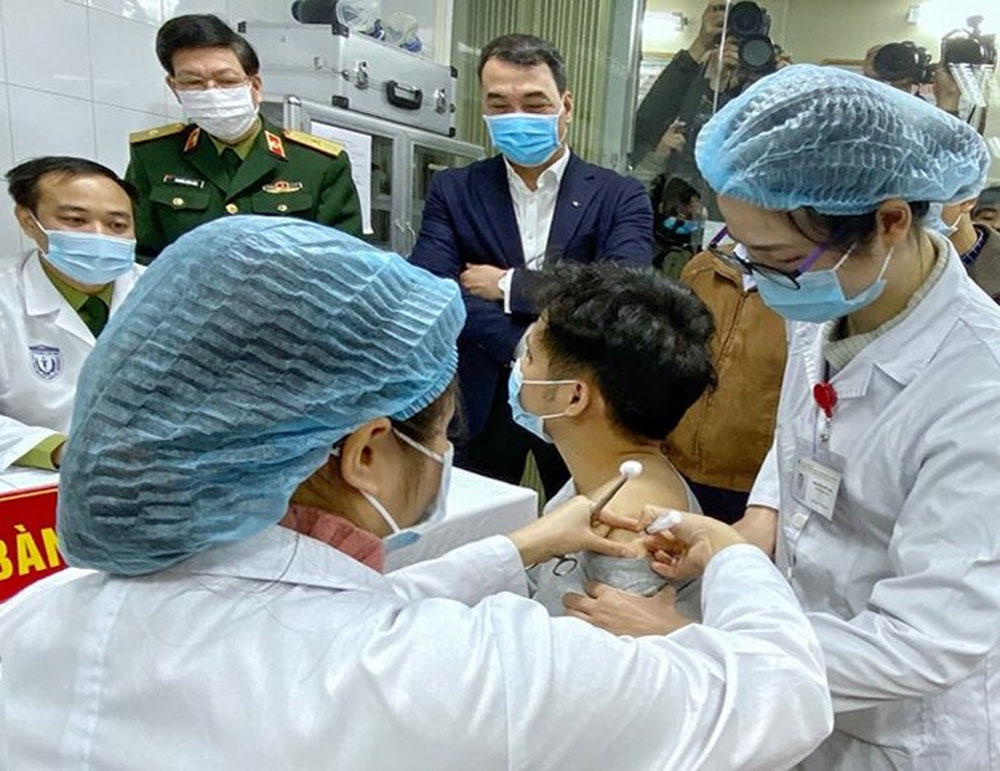 Vietnam, human trials, Covid-19 vaccine