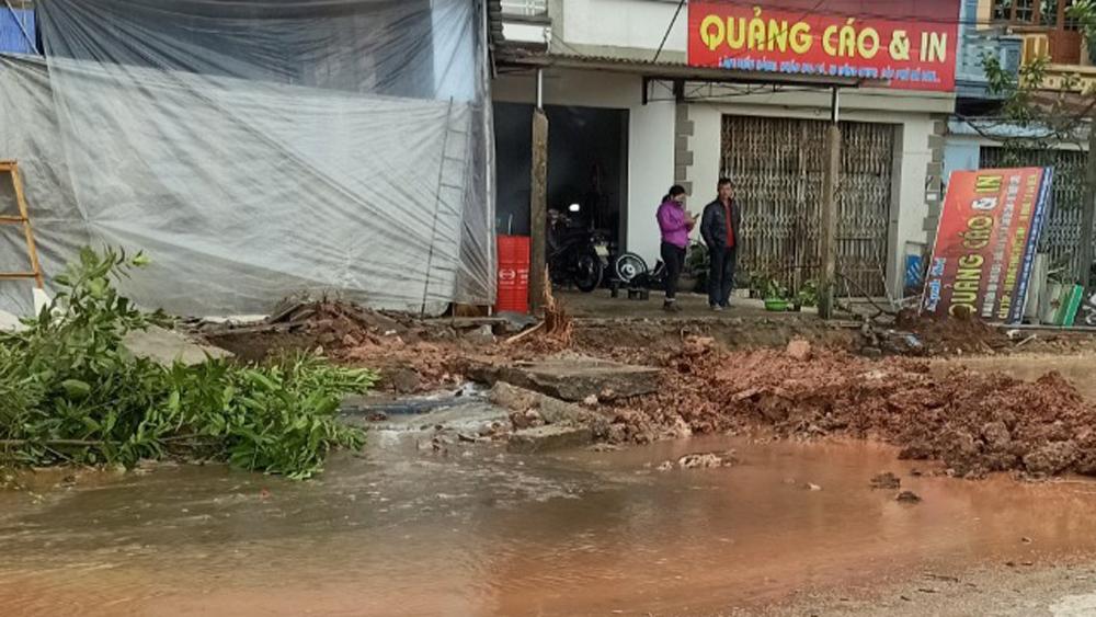 Lạng Giang: Nước sạch đã được cấp trở lại