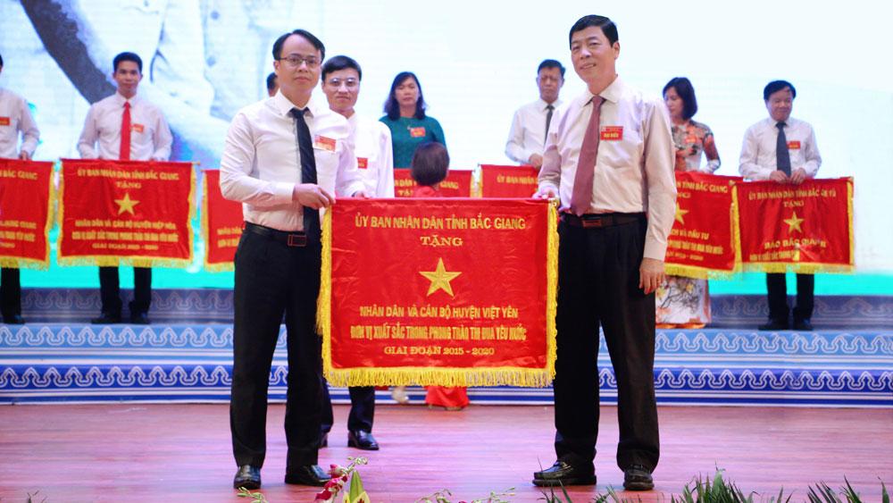 Việt Yên tự hào, vững bước trên chặng đường mới