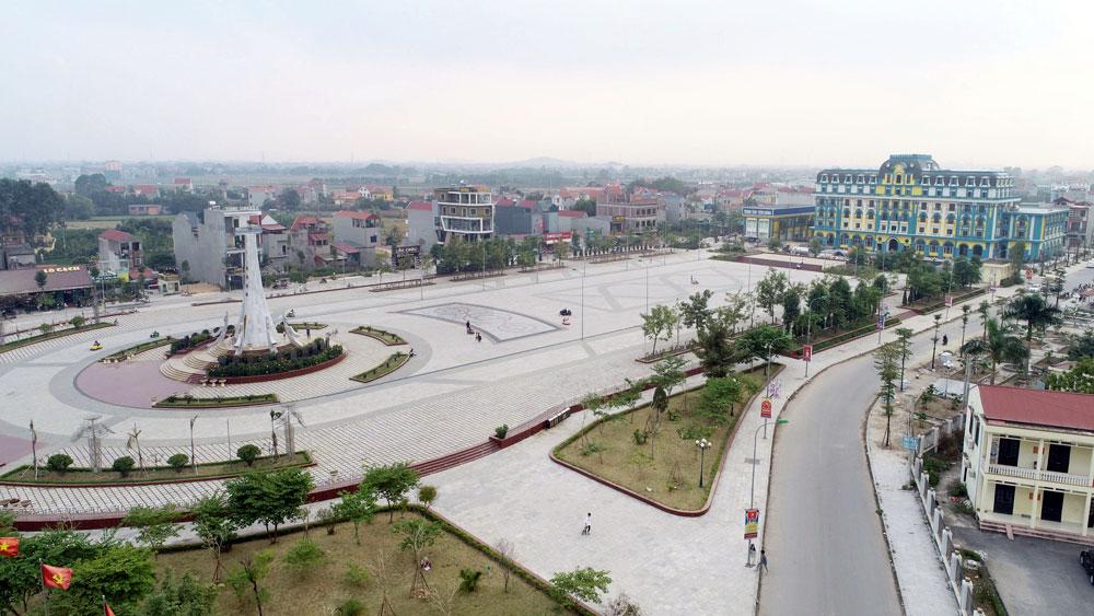 Dấu ấn miền quan họ, huyện Việt Yên, nét văn hóa, đô thị khang trang
