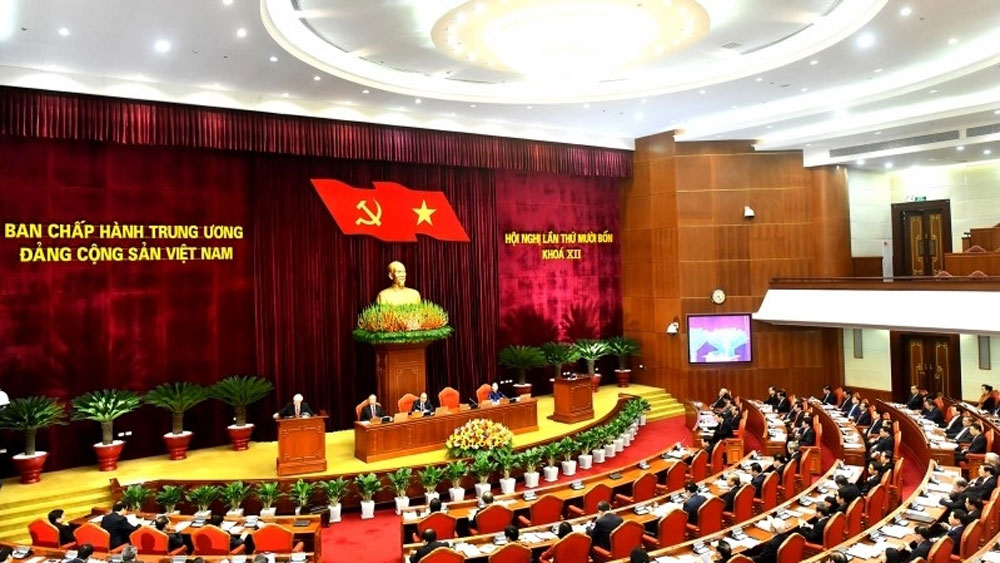 All agenda items of 12th Party Central Committee's 14th plenum completed
