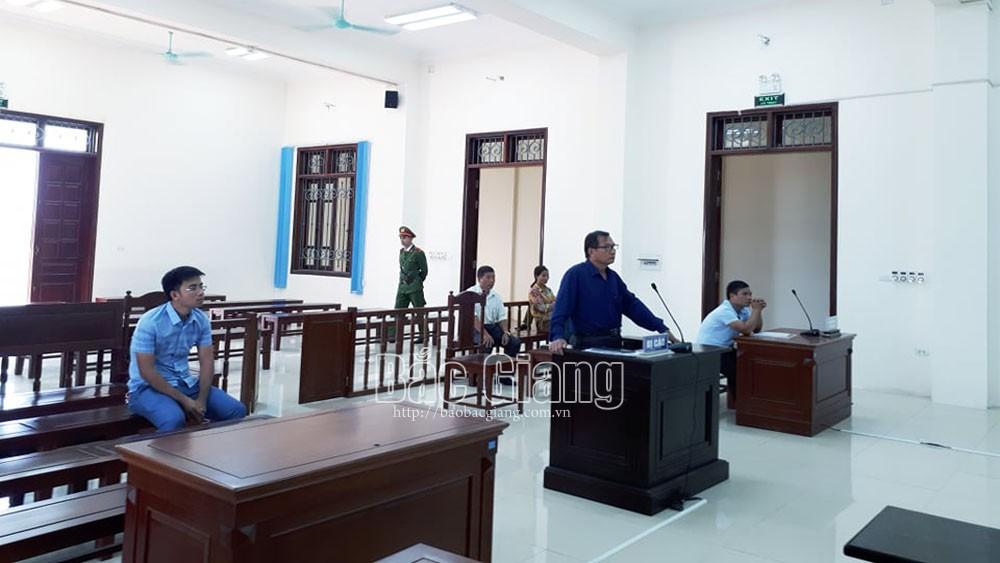 Xét xử phúc thẩm vụ án hủy hoại tài sản tại huyện Sơn Động: Tuyên y án sơ thẩm