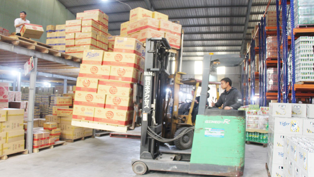 Bac Giang, efforts, sufficient supply, stable market, on Tet
