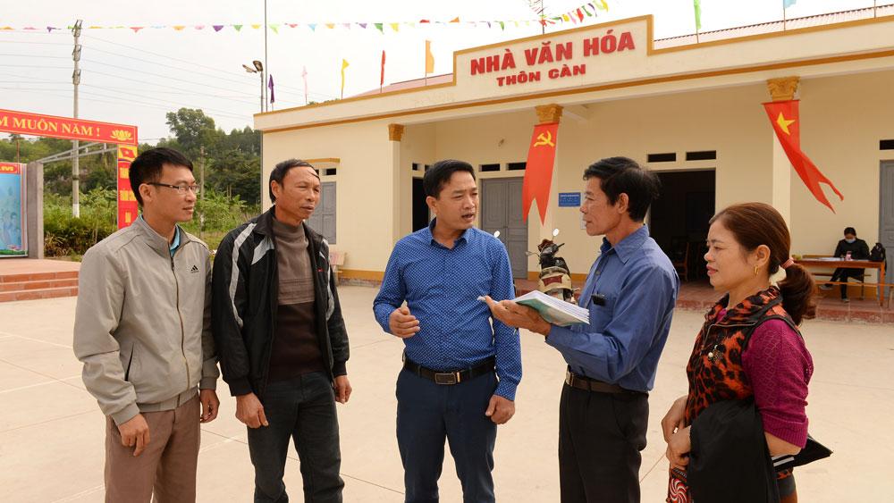Nhân rộng thôn kiểu mẫu ở Lạng Giang: Hộ gia đình là nòng cốt