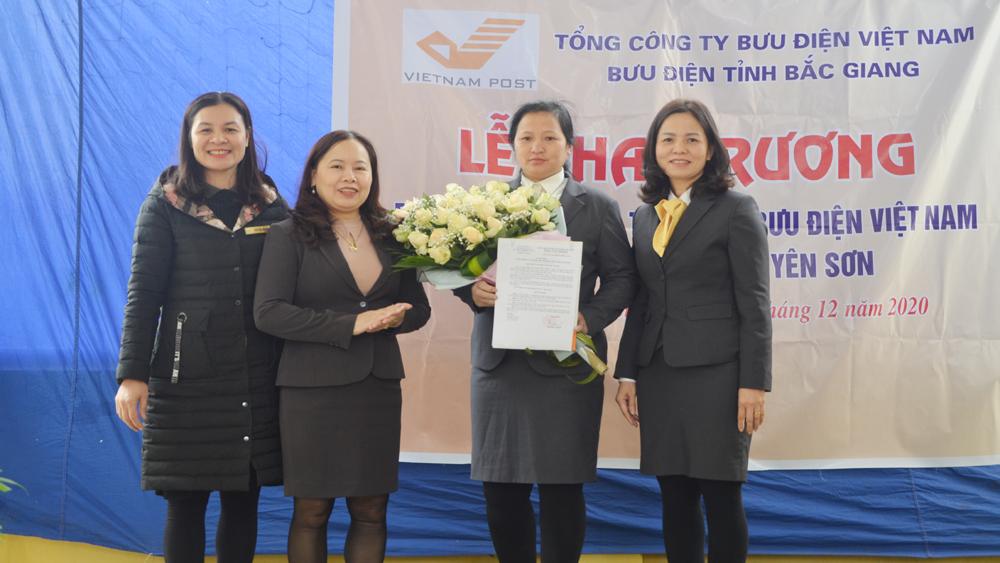 Bắc Giang: Khai trương mô hình Bưu điện - Văn hóa mới tại xã Yên Sơn