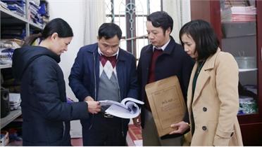 Công tác kiểm tra, giám sát ở Đảng bộ huyện Lục Nam: Tập trung lĩnh vực nhạy cảm, xử lý nghiêm vi phạm