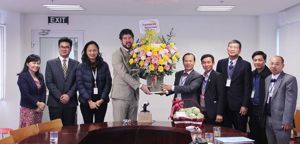 Provincial Vice Chairman Mai Son, New Year greetings, UNESCO, JICA Vietnam