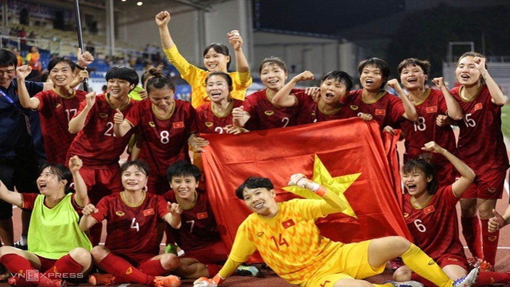 FIFA ranking: Women's football team end 2020 in Asia top five