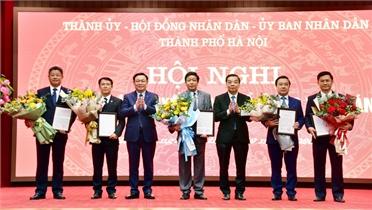 Thủ tướng Chính phủ phê chuẩn kết quả bầu bổ sung 5 Phó Chủ tịch UBND thành phố Hà Nội