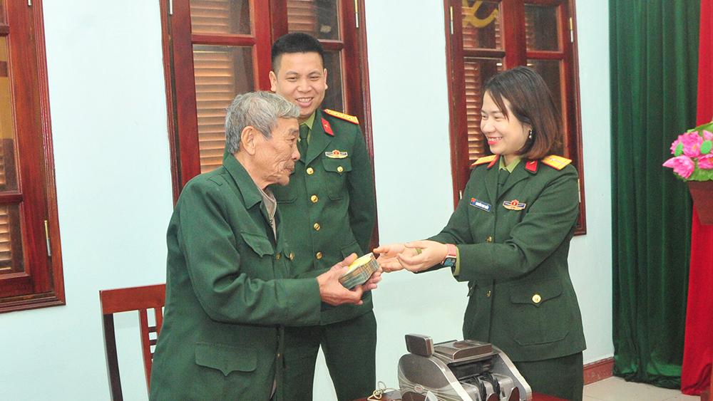 Bắc Giang: Chi trả truy lĩnh trợ cấp gần 1,5 tỷ đồng cho thương binh