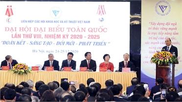 Ông Phan Xuân Dũng làm Chủ tịch Liên hiệp các hội KHKT Việt Nam