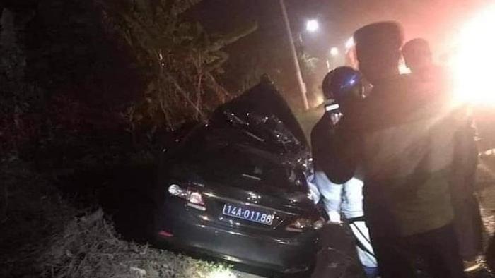 Ôtô của Sở Văn hóa, Thể thao và Du lịch tỉnh Quảng Ninh gặp tai nạn, 2 người tử vong