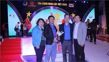 """Anh Nguyễn Văn Quyết được tuyên dương tại chương trình """"Tỏa sáng nghị lực Việt năm 2020"""""""