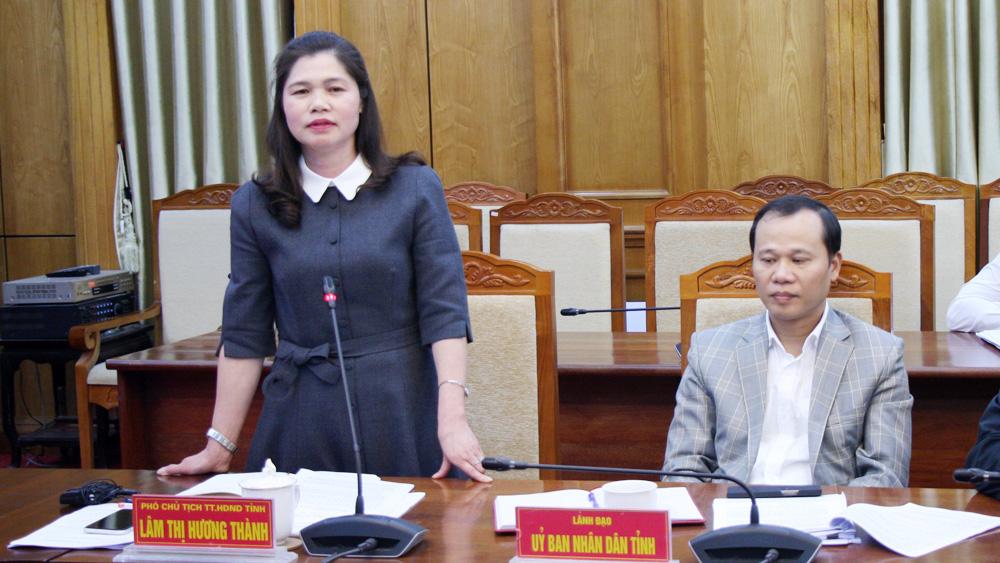 Bắc Giang, Thường trực HĐND, phiên thường kỳ, Lâm Thị Hương Thành