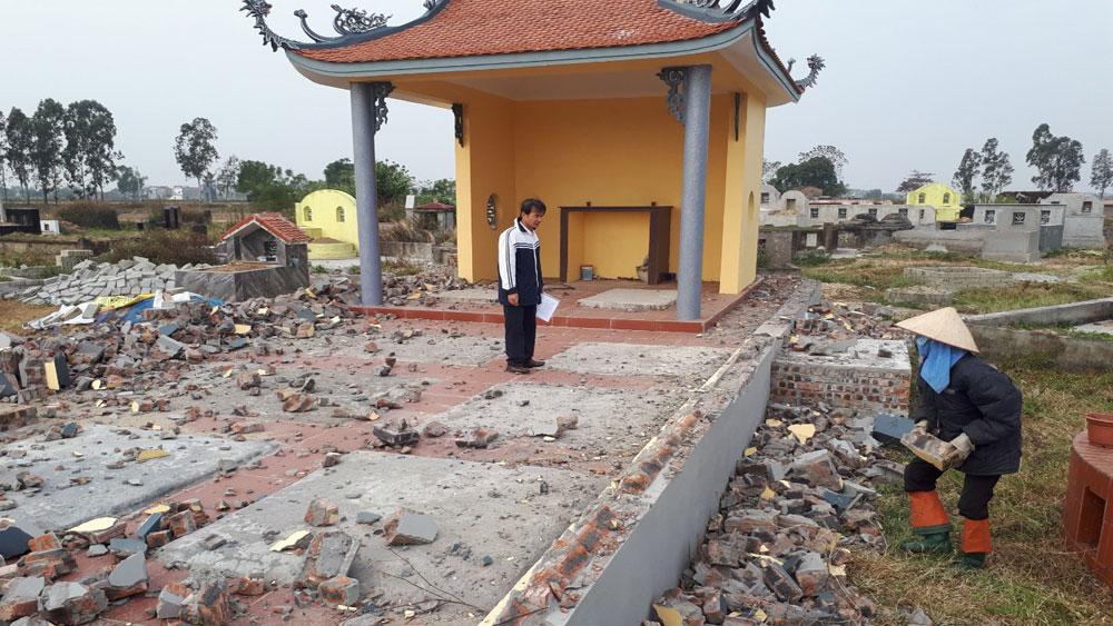 Thị trấn Nham Biền, Bắc Giang, Tổ dân phố Phấn Lôi, bà Nguyễn Thị Thuần