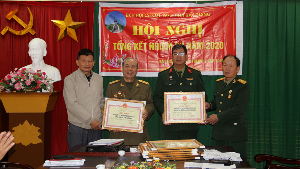 Hội chiến sĩ Thành cổ Quảng Trị tỉnh Bắc Giang: Tích cực hưởng ứng các phong trào thi đua