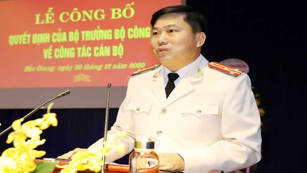 Bắc Giang có thêm một Phó Giám đốc Công an tỉnh