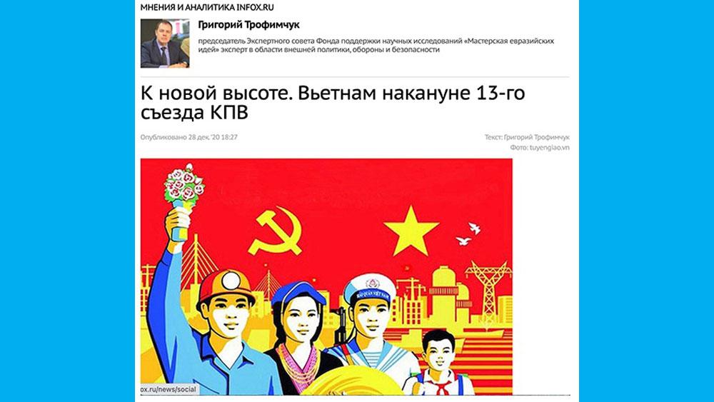 Việt Nam trước thềm Đại hội Đảng lần thứ XIII: Lên tầm cao mới