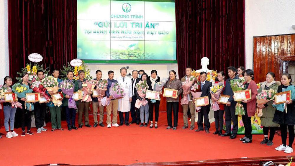 """Bốn người ở Bắc Giang hiến tạng được truy tặng Kỷ niệm chương """"Vì sức khỏe nhân dân"""""""