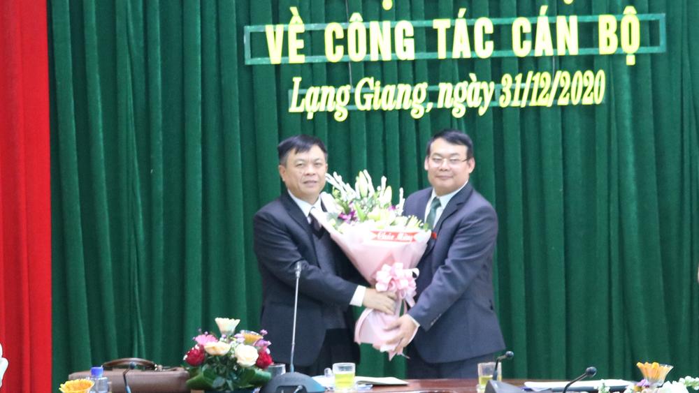 Bắc Giang: Đồng chí Nguyễn Văn Bằng giữ chức Chủ tịch UBND huyện Lạng Giang