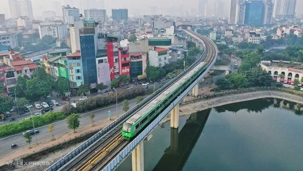 Hanoi metro test, relatively well, authorities, commercial operation