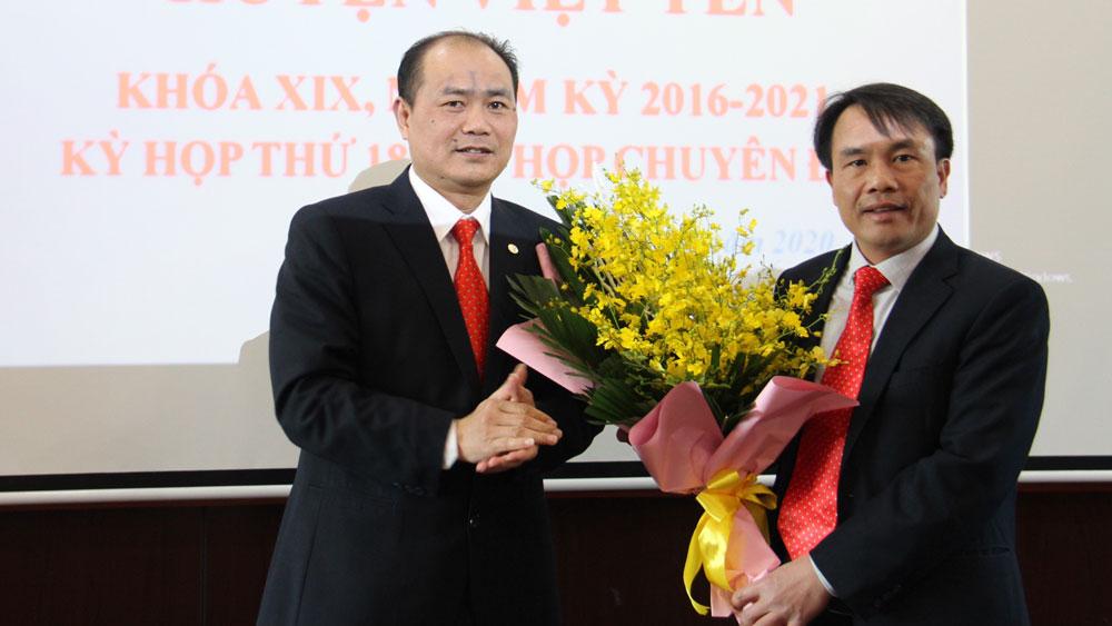 Việt Yên (Bắc Giang) có tân Phó Chủ tịch UBND huyện