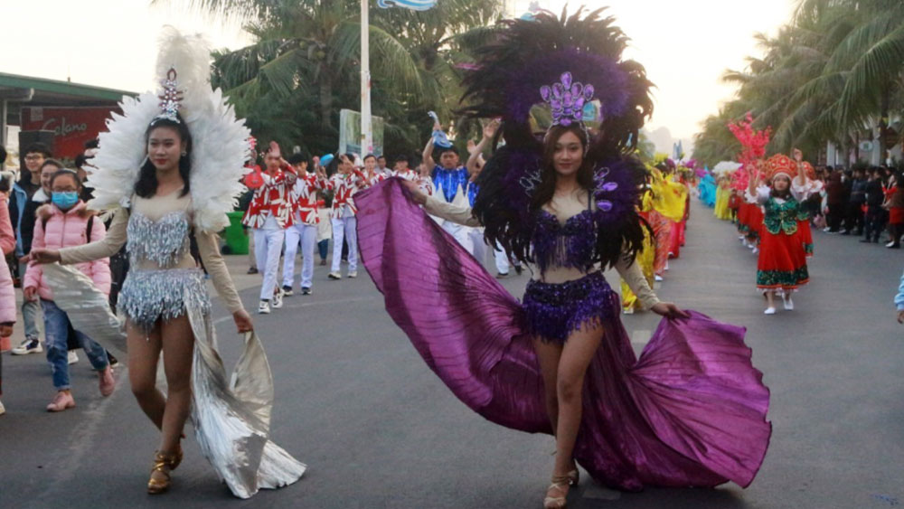 Quảng Ninh lần đầu tổ chức Carnaval mùa Đông
