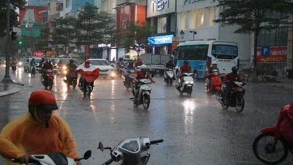Đầu tuần Bắc Bộ nắng hanh, Nam Bộ mưa rào rải rác
