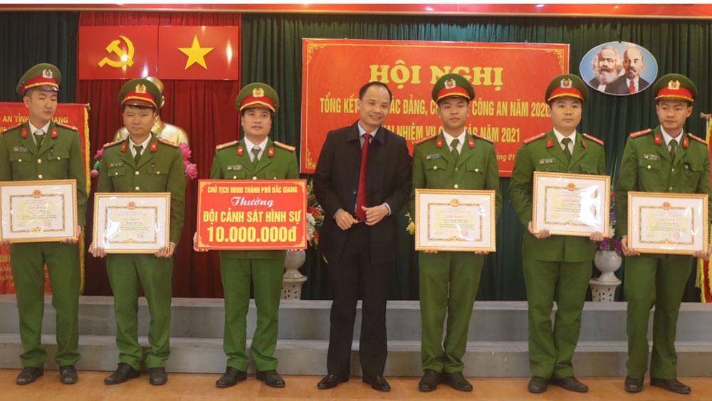 TP Bắc Giang: 89 tập thể, cá nhân được khen thưởng vì có thành tích xuất sắc trong bảo đảm ANTT