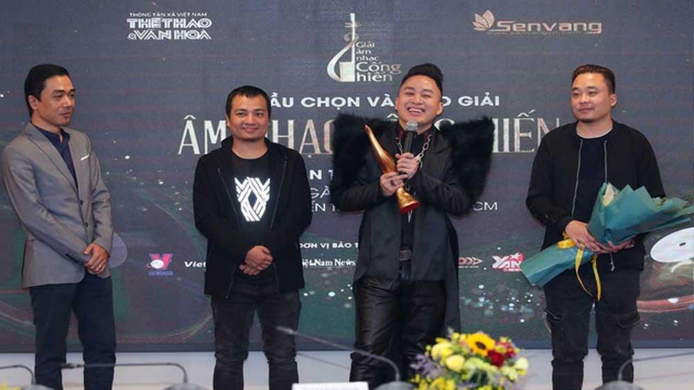 Giải Âm nhạc Cống hiến 2021: Ca sĩ Tùng Dương chiến thắng ở 3/9 hạng mục