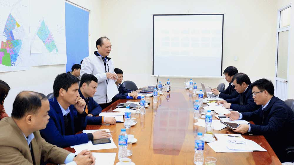 Bac Giang, hand over cleared land, Quang Chau industrial park