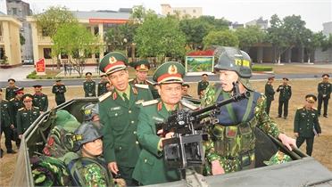 Bộ Tổng tham mưu kiểm tra công tác bảo vệ Đại hội XIII của Đảng tại Bắc Giang