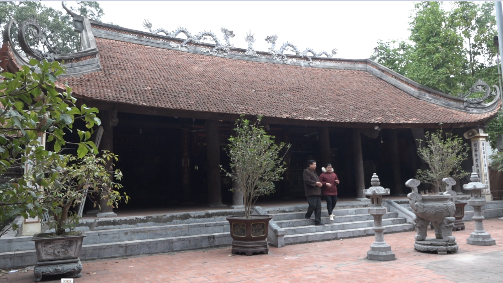 Bảo vật quốc gia - Cửa võng đình Thổ Hà